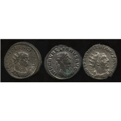 Ancient - Roman Imperial - Various 3rd Century Emperors. Billon Antoninianus. Lot of 3