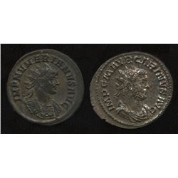 Ancient - Roman Imperial - Brothers, 3rd Century Emperors. Billon Antoninianus. Lot of 2