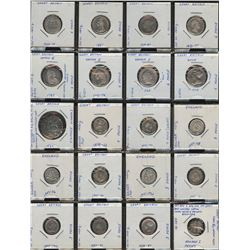 Great Britain - Lot of 63 Coins