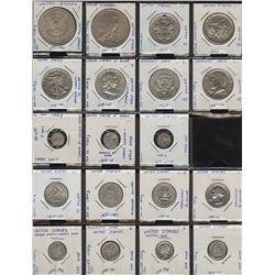 USA Type Collection of 19 Coins