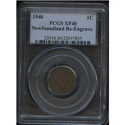 1940 Newfoundland One Cent