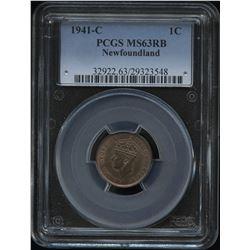 1941c Newfoundland One Cent