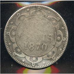 1870 Newfoundland Ten Cents