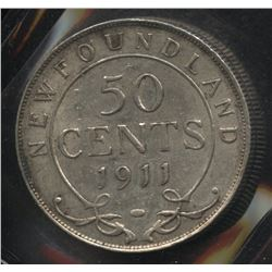1911 Newfoundland Fifty Cents