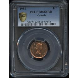 1957 One Cent