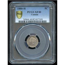 1880H Five Cents