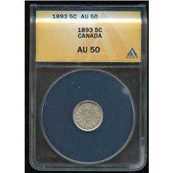 1893 Five Cents