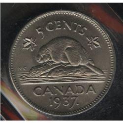 1937 Five Cents