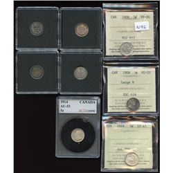 Better Collection of Silver Five Cents