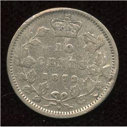 1872H Ten Cents