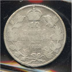 1913 Ten Cents - Broad Leaves