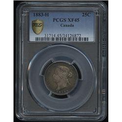 1883H Twenty-Five Cents