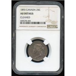 1893 Twenty-Five Cents