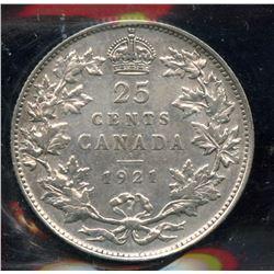 1921 Twenty-Five Cents