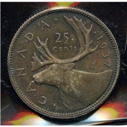 1937 Twenty-Five Cents