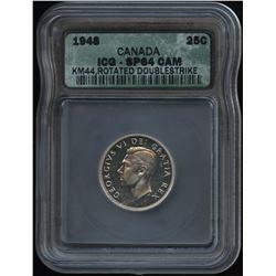 1948 Twenty-Five Cents - Specimen