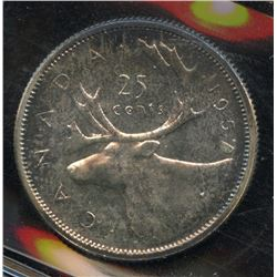 1957 Twenty-Five Cents