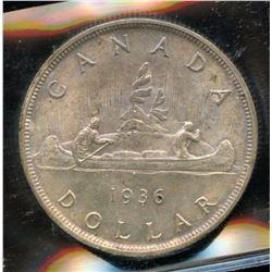 1936 Silver Dollar