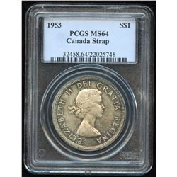 1953 Silver Dollar