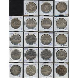 Silver Dollar Collection - Lot of 28 Coins