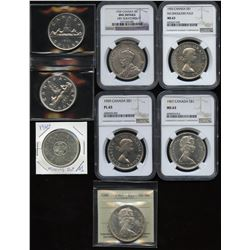 Miscellaneous Silver Dollars - Lot of 8