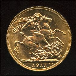 1911c Gold Sovereign