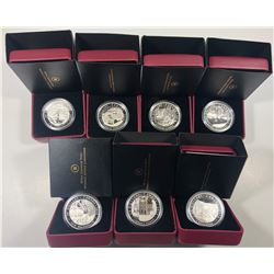 2012/2013 Group of Seven $20 Fine Silver Coin Set