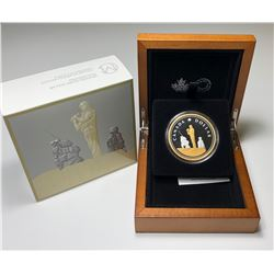 2019 Masters Club #5 Peacekeeping $1 Pure Silver Proof Renewed Dollar Coin Canada