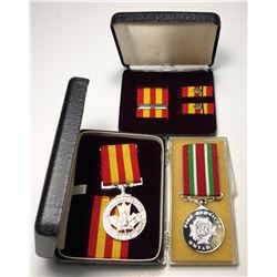 Ontario & Canadian Fire Services Exemplary Service Medals