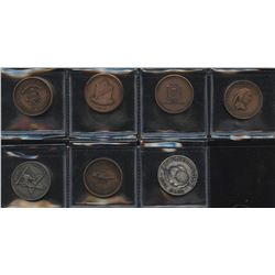 ONA & Oakville Coin Club & Waterloo Coin Society - Lot of 7 Medals