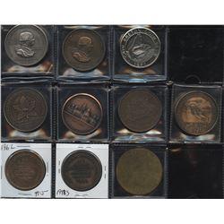 Coin Club, CNA, APNA, Quebec Numismatic Association Medals
