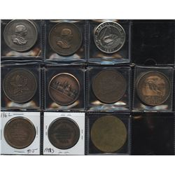 Coin Club, CNA, APNA, Quebec Numismatic Association Medals