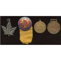 Canadian Medals - Lot of 4