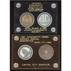 Ontario Numismatic Association Medals