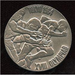 1964 Tokyo Olympiad Silver Medallion