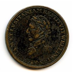 WELLINGTON TOKEN. COURTEAU 20. Breton 986. Withers 1555. CH WE-11C1.