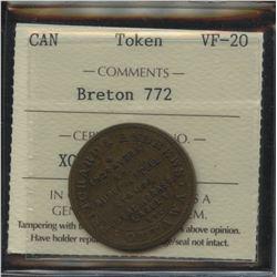 Br. 772, Pritchard & Andrews, Ottawa, brass