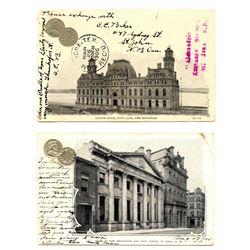 NUMISMATIC POST CARDS.