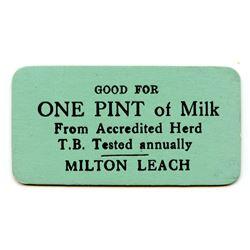 Alberta Milk Tokens.