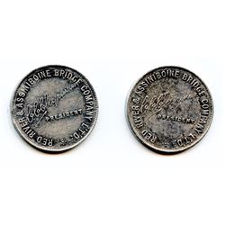 Manitoba Transportation Tokens.