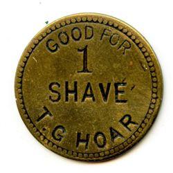 Manitoba Shave Token.