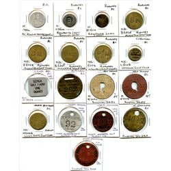 BRITISH COLUMBIA INCUSE TOKENS.