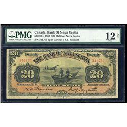 Bank of Nova Scotia $20, 1903