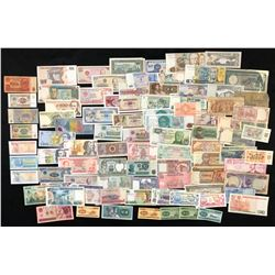 World Paper Lot of 90 Notes