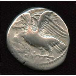 BRUTTIUM, Kroton. c. 350-300 BC. AR Nomos