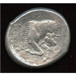 SICILY, Gela. c. 450-440 BC. AR Tetradrachm