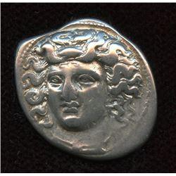 THESSALY, Larissa. c. 350-300 BC. AR Drachm