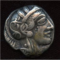 ATTICA, Athens. c. 449-404 BC. AR Tetradrachm
