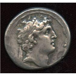 SELEUKID KINGS of SYRIA. Alexander I (Balas). 152-145 BC. AR Tetradrachm