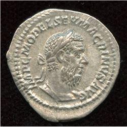 Macrinus. 217-218 AD. AR Denarius